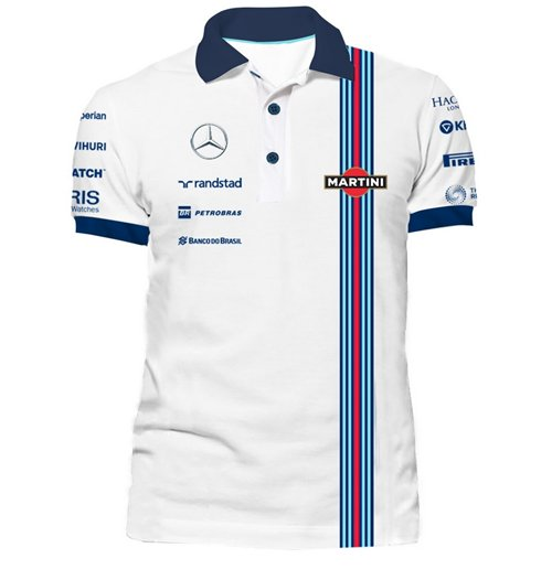 Official Williams Martini Racing Team Polo 2015: Buy ...