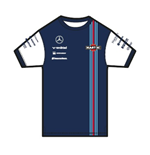 Williams Martini Racing KIDS Team T-Shirt 2015