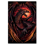 Dragon Furnace - Poster 62x92cm