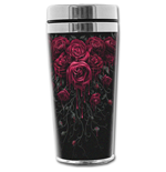 Blood Rose - Thermo Travel Mug - Flask 0.45L
