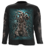Forest Reaper - Longsleeve T-Shirt Black
