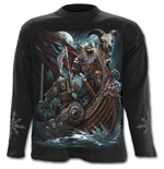 Viking Dead - Longsleeve T-Shirt Black