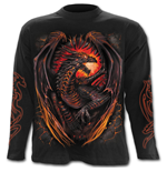 Dragon Furnace - Longsleeve T-Shirt Black