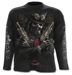 Steam Punk Bandit - Longsleeve T-Shirt Black
