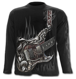 Air Guitar - Longsleeve T-Shirt Black