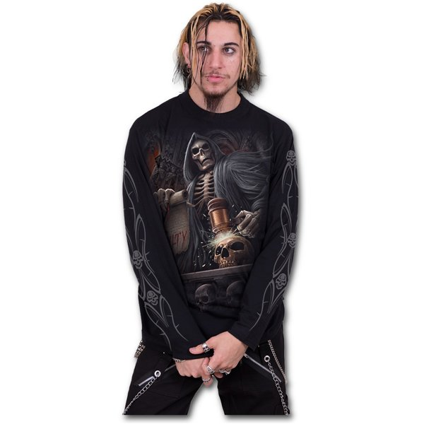 Judge Reaper - Longsleeve T-Shirt Black