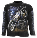 Ride To Hell - Longsleeve T-Shirt Black