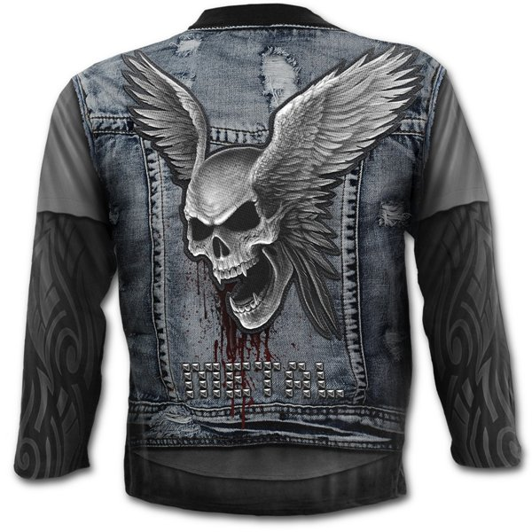 Rock metal clothing online shop clothes and accessories for Thrash and burn shirt