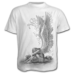 Enslaved Angel - T-Shirt White