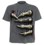 Death Grip - T-Shirt Charcoal