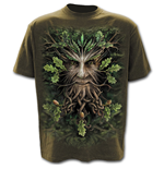 Oak King - T-Shirt Olive