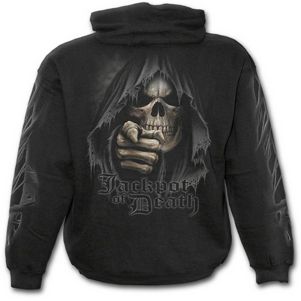 Jackpot Death - Hoody Black