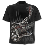 Air Guitar - T-Shirt Black