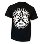 SONS OF ANARCHY Redwood Original White Crest Tee Shirt