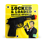 Locked And Loaded Bottle Opener