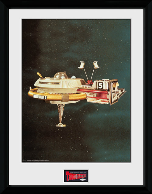Thunderbirds Classic Thunderbird 5 Collector Print
