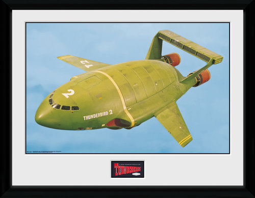 Thunderbirds Classic Thunderbird 2 Air Collector Print