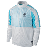 2015-2016 France Nike Select Lightweight Woven Jacket (White)