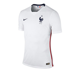 2015-2016 France Authentic Away Nike Football Shirt