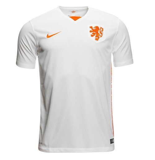 2015-2016 Holland Away Nike Football Shirt (Kids)