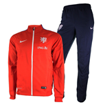 2015-2016 Holland Nike Woven Tracksuit (Red)