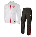 2015-2016 Portugal Nike Woven Tracksuit (White)