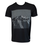 COORS Light Grey On Black T-Shirt
