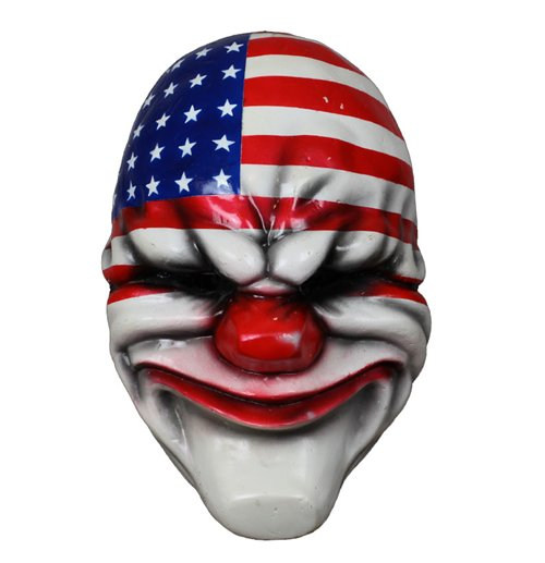 Official Payday 2 Vinyl Mask Dallas Buy Online On Offer