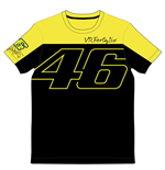 Rossi VR46 T-Shirt 2015 Black/Yellow