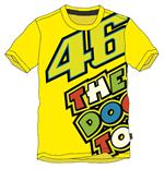 Rossi The Doc T-Shirt 2015 Yellow