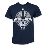 CORONA EXTRA Men's Navy Blue Sundials T-Shirt