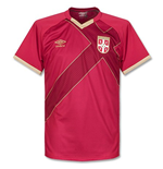 2015-2016 Serbia Home Umbro Football Shirt