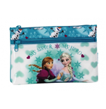 Frozen (ICE) big pencil case with two zippers