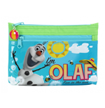 Frozen (Olaf) big pencil case with two zippers
