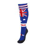 Australia Country Hingly Socks (Blue)