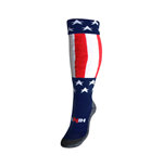 USA Country Hingly Socks (Navy)