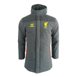 2014-15 Liverpool Warrior Stadium Jacket (Grey)