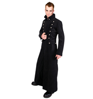 Aderlass Admiral Long Coat Wool