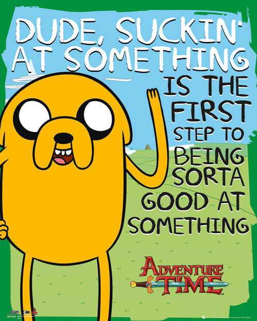Adventure Time Suckin Mini Poster