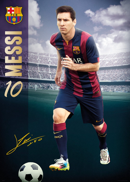 Barcelona Messi 14/15 Giant Poster