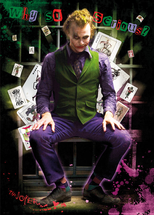 Batman Joker Jail Giant Poster