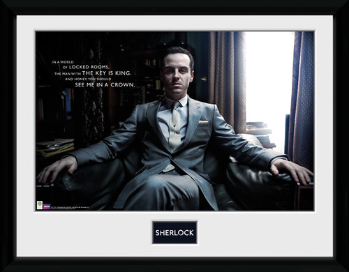 Sherlock Moriarty Chair Collector Print