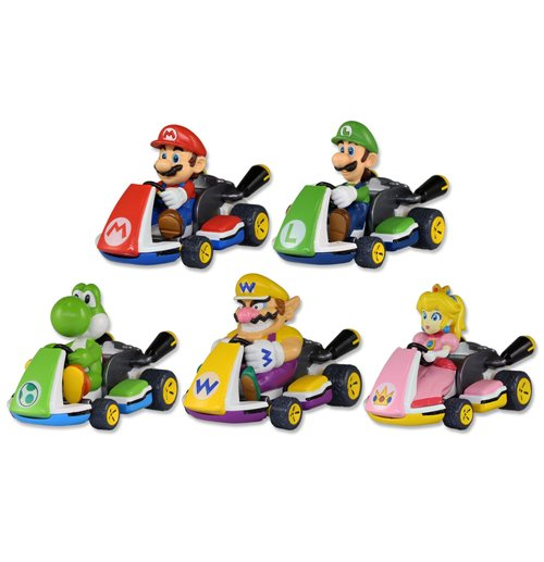 Super Mario Bros  Pull Back Cars Mario Kart 8 Display (15)