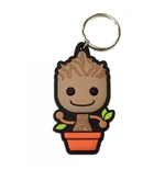 Guardians of the Galaxy Rubber Keychain Baby Groot 6 cm