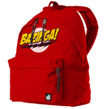 Superman Backpack Bazinga Logo