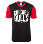 2015 Chicago Bulls Adidas Summer Tee (Black)