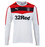 2015-2016 Rangers Home Goalkeeper Shirt (White)