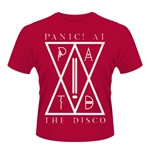 Panic At The Disco T-shirt Patd (RED)