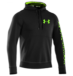 Under Armour 2015 Mens Storm Cotton Graphic Hoody (Black)