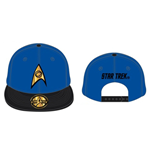 STAR TREK Spock Science Baseball Cap, Blue